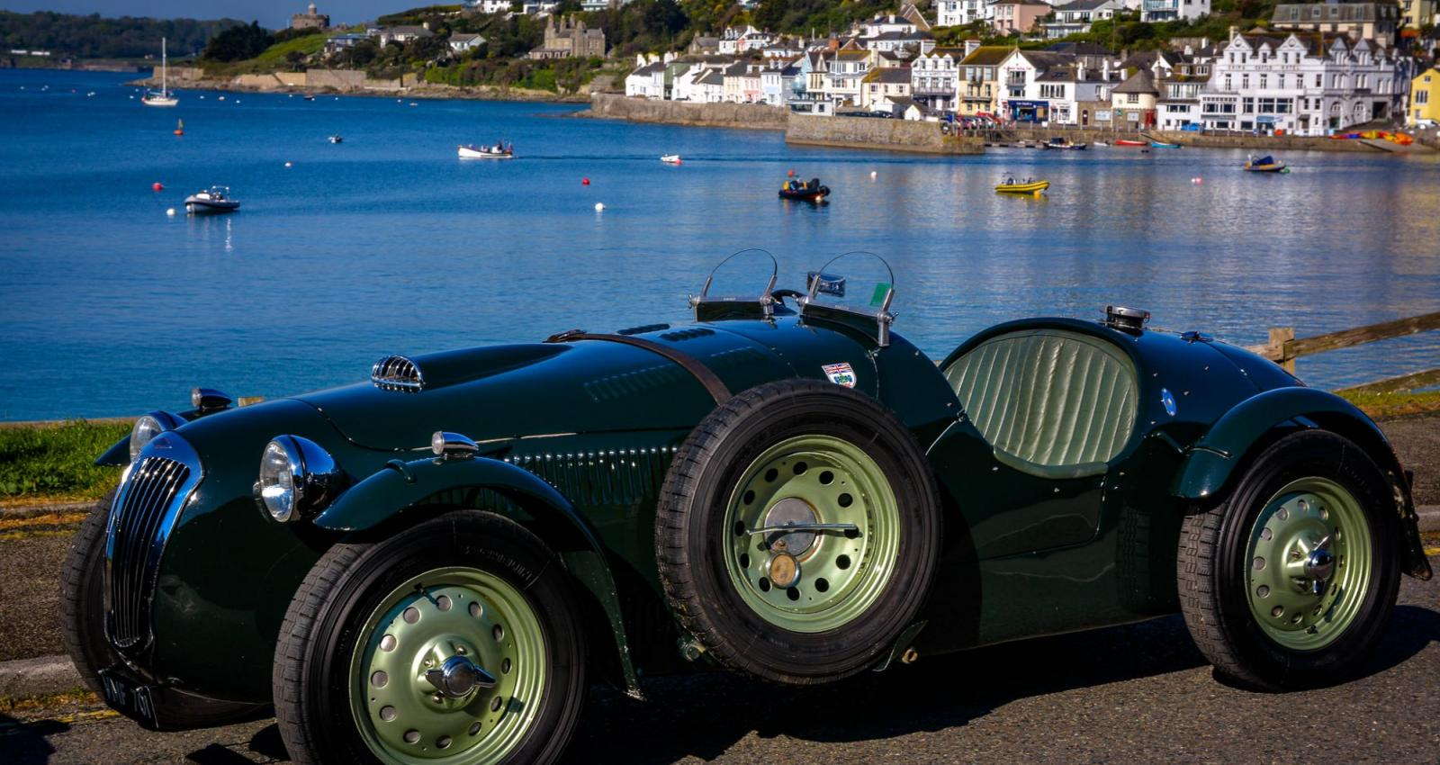 Jazz Band in St Mawes Classic Car Festival - West End Duo