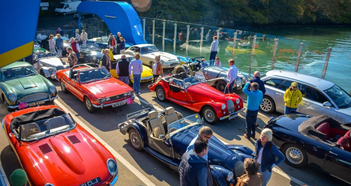 Jazz Band in St Mawes Classic Car Festival 2020